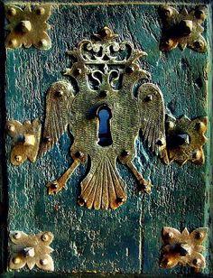 double eagle door escutcheon ... Rose Briar