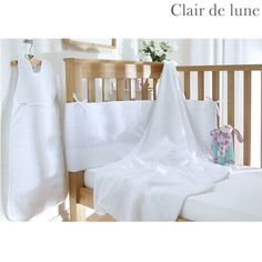 Clair de Lune Soft Waffle - 4 Piece Newborn Bedding Bale Product Information Bumper Size: 36cm x 150cm Sleeping Bag 0-6 Months 2.5 Tog Fleece Blanket Size: 100cm x 150cm Cotton Jersey Fitted Sheet: 70cm x 140cm Available in White Cream Pink and Blue. Machin http://www.comparestoreprices.co.uk//clair-de-lune-soft-waffle--4-piece-newborn-bedding-bale.asp
