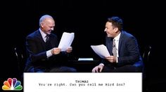 Michael Keaton and Jimmy Fallon birdman sketch