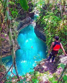 Kanlaob River, Alegria, Cebu. Filipinas