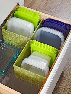 Trendy Kitchen Storage Bins Home Kitchen Storage Hacks, Kitchen Storage Containers, Kitchen Cabinet Organization, Diy Storage, Closet Organization, Storage Ideas, Organization Ideas, Kitchen Cabinets, Storage Solutions