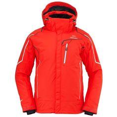 Eider Garmisch Mens Jacket in Red Ski Gear, Skiing, Snow, Warm, Red, Jackets, Fashion, Ski, Down Jackets
