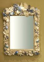 Baroque Mirror with large top  Thomas Boog