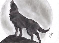 Resultado de imagen para lobos a lapiz para dibujar