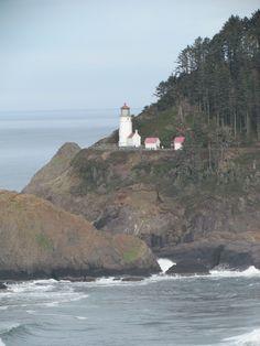 Heceta Head Lighthouse near Florence, Oregon