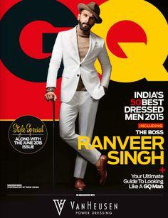 Ranveer Singh GQ India Style Issue June 2015