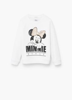 Cartoon cotton sweatshirt | MANGO KIDS