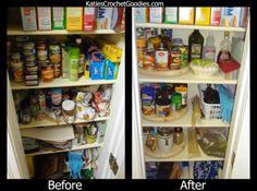 Pantry Organization - Door Shelves & DIY Lazy Susans!