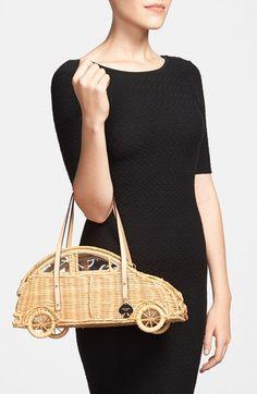 "wicker Kate Spade ""Bug"" purse"