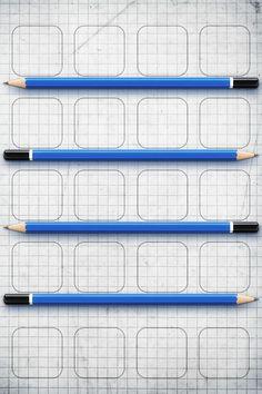 Pencils iPhone wallpaper