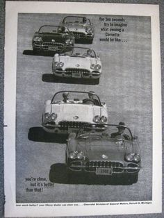 1960 Corvette Advertisement