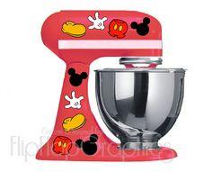 Piezas de Mickey Mouse de Disney para el mezclador de la