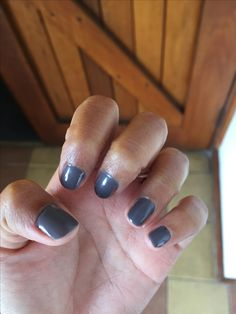Grey nails by Tara for a wedding I attended Gray Nails, Bling, Grey, Wedding, Beauty, Gray, Valentines Day Weddings, Jewel, Weddings