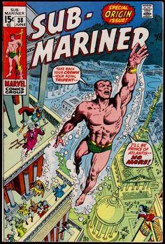 SUB-MARINER Prince Namor … Issue 38 Marvel comics