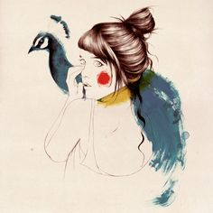 "Conrad Roset Shop: muse #561 prints signed print 30x30xcm / 12""x12"" inches 330 g/m2 paper 30.00 €"