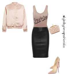 """""""Barbie"""" by fiercefashi0nista on Polyvore featuring Cameo Rose, Christian Louboutin, Joseph and Elie Saab"""