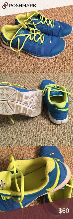 Nike Free Trainer 3.0 Probably worn 5 times. Great shape and comfortable! Make me an offer!! Nike Shoes Athletic Shoes