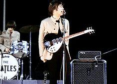 * the beatles Paul McCartney john lennon ringo starr george harrison these fuckers shea stadium