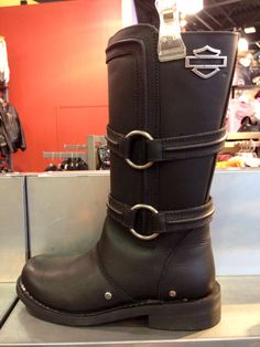 Tear up the road in style in these leather Chantay boots. Biker Fashion, Biker Style, Boots, Leather, Crotch Boots, Shoe Boot
