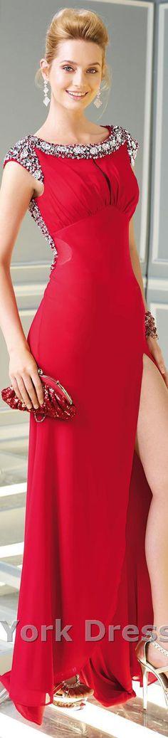 Alyce Paris design #elegant #red #sexy #large #formal #dress