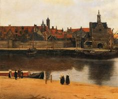 View of Delft, by Jan Vermeer