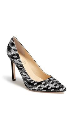 See how others are styling the ivanka trump carra pump black white.