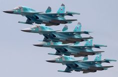 Sukhoi (NATO reporting name: Fullback) Military Jets, Military Weapons, Military Aircraft, Air Fighter, Fighter Jets, Su 34 Fullback, Russian Fighter, Russian Air Force, Air Force Aircraft