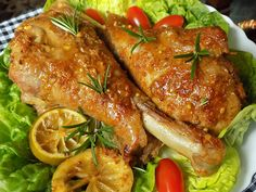 Malay Food, Top Recipes, Tandoori Chicken, Chicken Wings, Poultry, Turkey, Food And Drink, Meat, Cooking