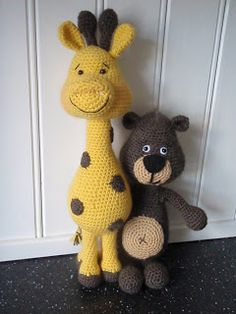 Brittas Ami: Giraff & Nalle..