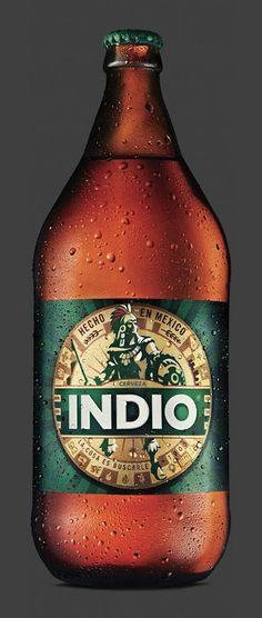 Un indio bien vestido. Rediseño Cerveza Indio (2)