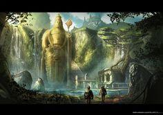 Forgotten Civilization by JonathanDufresne.deviantart.com on @DeviantArt