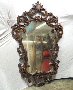 Rococo Mirror (x3) -2 vacuum formed (throne room)