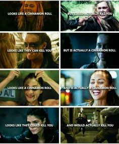 The women of The 100