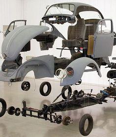 Corvette Cabrio, Vw Cabrio, Vw Super Beetle, Beetle Car, Mercedes Benz 300, Damian Ortega, Vw Rat Rod, Vw Baja Bug, Vw Vintage