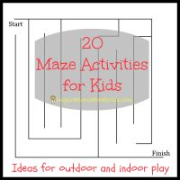 20 Maze Activities for Kids » Inspiration Laboratories