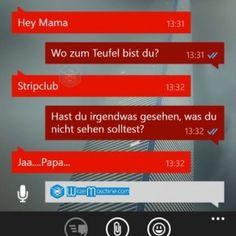 Lustige WhatsApp Bilder und Chat Fails 144 - Strip-Club