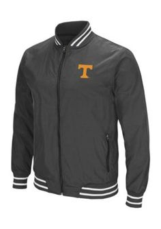 Colosseum Athletics Tennessee Volunteers Blade Full Zip Jacket - Black - 2Xl