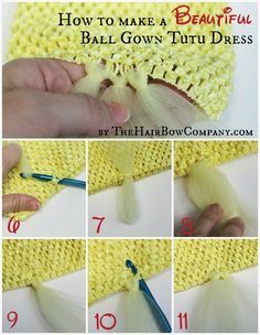 Beautiful Ball Gown | A step by step tutorial with pictures!