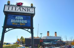 Titanic Museum in Pigeon Forge -- Now Boarding!!!