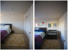 Baby Files: The 1-Bedroom Apartment Nursery | I'm Better in Real Life  I especially like the Changing Pad idea.