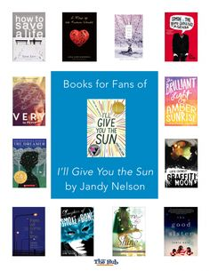 The 2015 Printz Award winner I'll Give You the Sun is finding more and more fans in my library, and readers often connect with the…