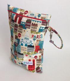 Oh La La Paris Wet Bag #wetbag #paris #france