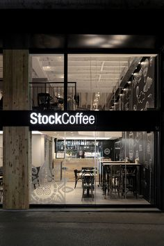 Stock Coffee / Arhitektura Budjevac