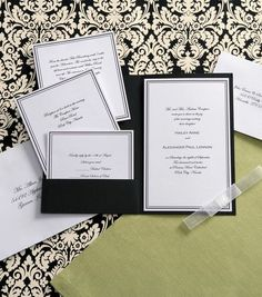 Printable Bilingual Vietnamese Wedding Invitation Set Green