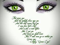 people with green eyes quotes Green Eye Quotes, People With Green Eyes, Eye Color, Writing, Irish, Image, Irish Language, Ireland, Being A Writer