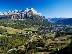 """Cortina d'Ampezzo - the """"Queen of the Dolomites"""" - Belluno"""