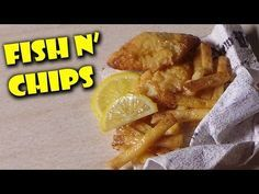 Miniature Fish n' Chips - Polymer Clay Tutorial - YouTube