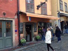 Best Hot Chocolate in Stockholm #gamlastan