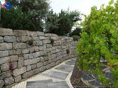 Granit Mauerstein geschrieben