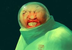 Surreal and satirical concept art by Sergey Kolesov. Those of you who don't know Sergey Kolesov yet, you definitely have to check out his amazing Character Illustration, Digital Illustration, Sergey Kolesov, Horror Pictures, Vanishing Point, Caricature, Cool Art, Concept Art, Digital Art